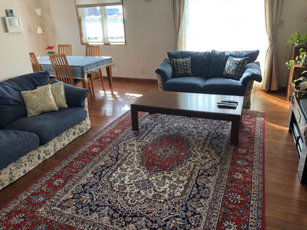 ESFAHAN wool&silk 200x300高級感のある絨毯をお選びいただきました。