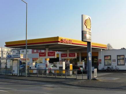 Shell Tankstelle Varnholt