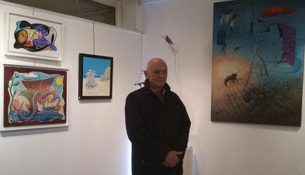 Claude Rossignol - Expo Galerie Thuillier 2015