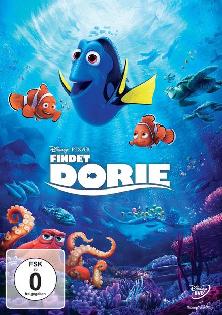Findet Dorie DVD - Disney Pixar - kulturmaterial