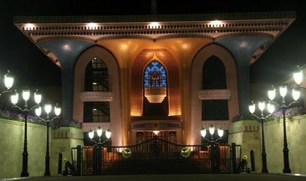 Oman - Sultanpalast