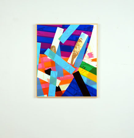 Rythme n°89, dim. 51,50 cm x 43 cm, 2020