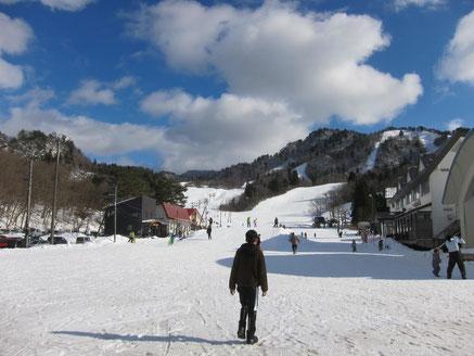 阿賀町三川・温泉スキー場