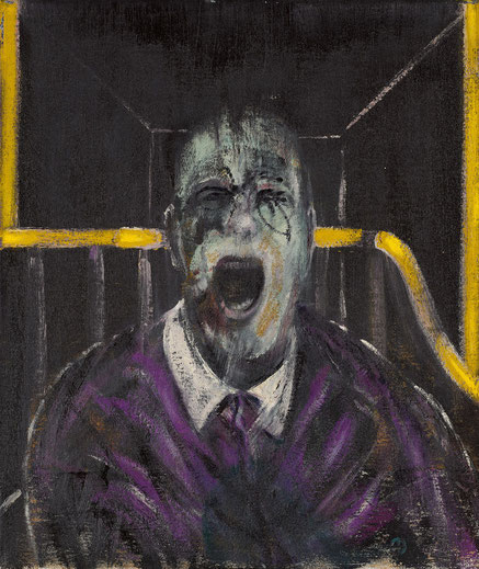 "Francis Bacon, ""Study for a Head""(1952)"