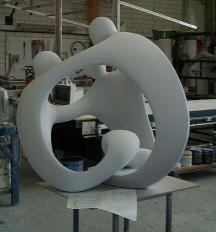 Escultura Esférica Humana