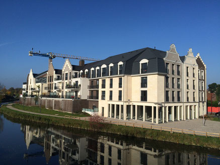 Juillet 2014, chantier en cours - Marcq-en-Baroeul