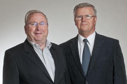Günter Thyrolf und Siegfried Uhle - Gründer der Firma