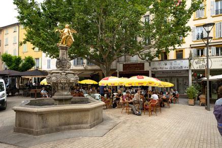 Bild: Carpentras, Fontaine de L´Ange