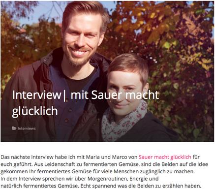 Interviewe mit Anika von Peppershealthylife