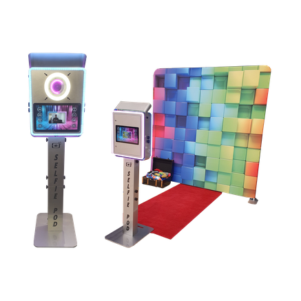 Selfie Pod Photo Booth Hire Giant Smart Phone