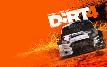 DiRT 4 est prévupour le 09juin2017 surPC, Xbox One et PS4.