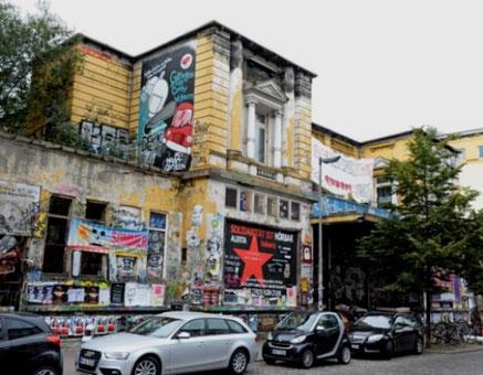"""""""Rote Flora"""" i Hamburgs bydel """"Schanzenviertel"""""""