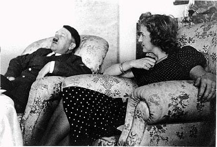 """Adolf """"Dolfi""""  Hitler og Eva Braun"""