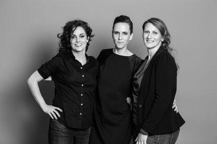 Renate Steger, Ute Petritsch und Dr. Anneliese Niederl-Schmidinger