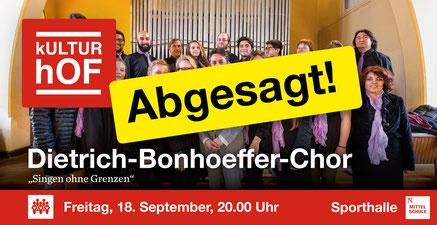 Foto: Dietrich-Bonhoeffer-Chor