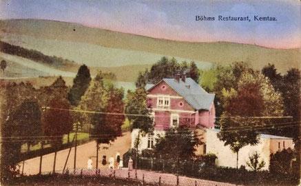 Ansichtskarte mit dem ehemaligen Lokal