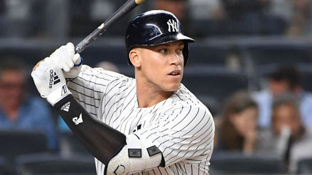 Nella foto Aaron Judge (da Newsday)