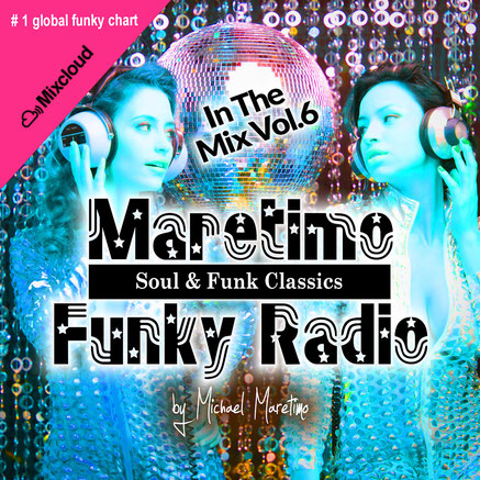 Maretimo Funky Radio Number 1 on global funky chart at Mixcloud - Dj Maretimo - Maretimo Records