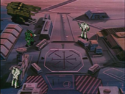 Macross - Alaska Base - Ratatarse Factory