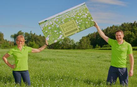 Deutsche Bio-Leinsamen, Leinöl Bodensee, Leinsamenmühle, Flachs