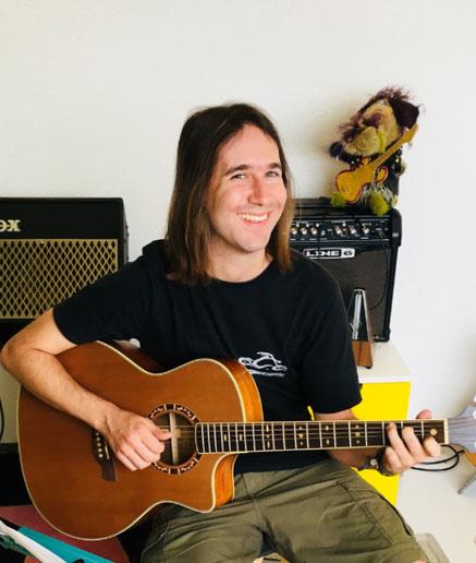 E-Gitarre lernen in Düdingen Kanton Freiburg für Kinder und Erwachsene - Gitarren lernen für anfänger