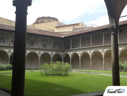 Binnenplaats Heilige Santa Croce