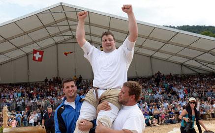 De Seeländer Florian Gnägi hat den Sieg nicht gestohlen: Er gewann alle sechs Gänge.