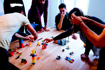 LEGO SERIOUS PLAY Workshop Produktentwicklung Teambuilding