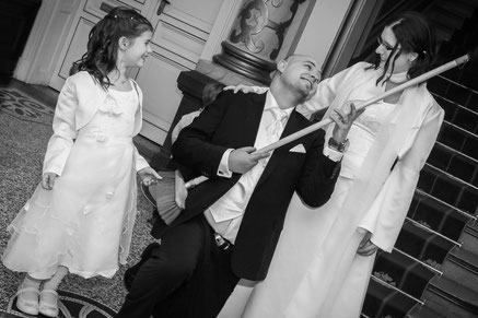 Standesamtliche Hochzeit in der Villa Leutert, Januar 2015 // Foto: privat