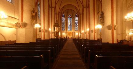 Hauptkirche Sankt Jacobi in Hamburg, Mittelschiff