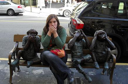 Das Bild entstand 2010 in San Francisco - damals konnte ich nicht ahnen wie treffend das Touri-Foto mal werden würde!