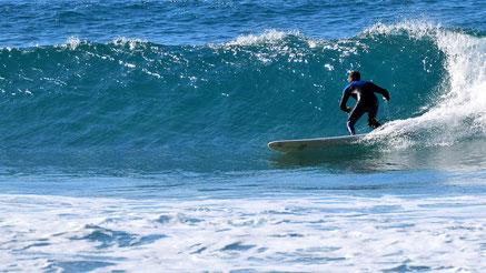 Beautiful surf spot in Algarve, West coast