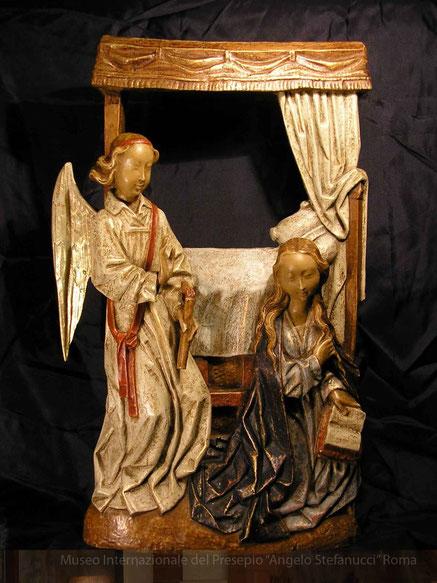 Annunciazione - Pietra dei Pirenei  - Francia  Opera delle Piccole Sorelle di Gesù