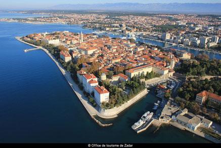 La vieille ville de Zadar
