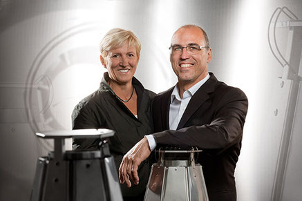 Geschäftsführer Marion und Stephan Beck