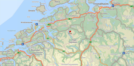 Wandern im Trollhgeimengebiet von Hütte zu Hütte bei Singer Reisen & Versicherungen buchen