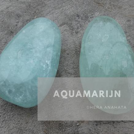 Aquamarijn edelstenen, edelsteen sieraden