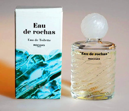 EAU DE ROCHAS : EAU DE TOILETTE 10 ML - BOUCHON PLASTIQUE BLANC