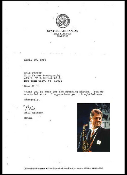 President Bill Clinton, Club Tatou, NYC 1992