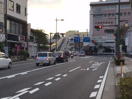 小田原の有名なクランクです。落車しないようにw
