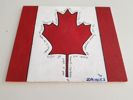 Project: Canada (7c; June 2019)