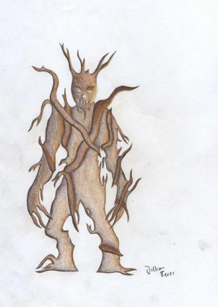 Wood demon (by Jillian B. / 2021)