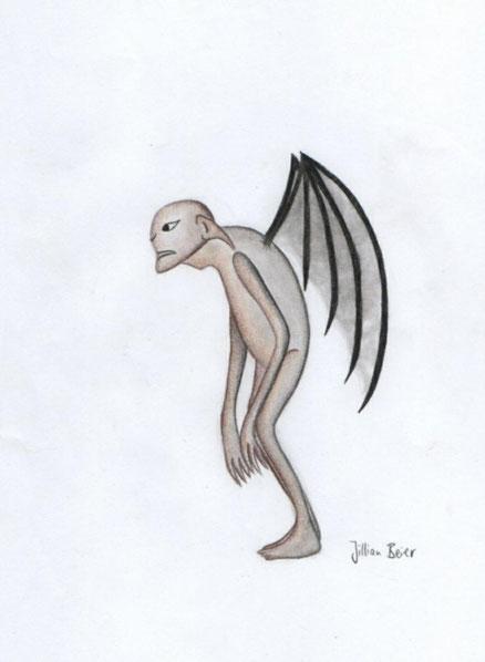 Wind demon (by Jillian B. / 2021)