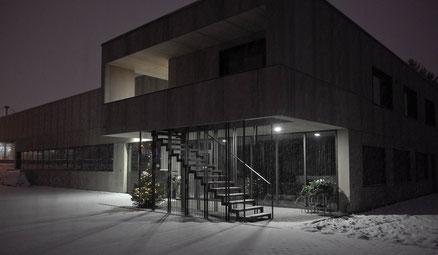 Bild: Neubau Huber Metallbau AG Moosseedorf, Winter