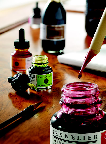 Sennelier Inks - Perfect for Calligraphy & Painting