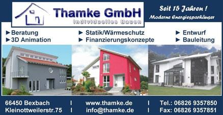 Thamke GmbH Moderne Energiesparhäuser