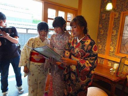 正絹のお着物、名古屋帯