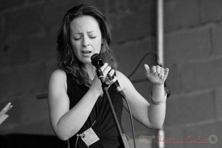 Festival JAZZ360 2011, Florinda Piticchio & Balarm Quartet, Château du Garde, Cénac. Photographie : Christian Coulais