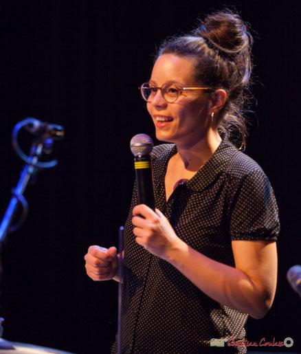 """Anne Paceo, batteuse, """"Circles"""", Festival JAZZ360, Cénac"""