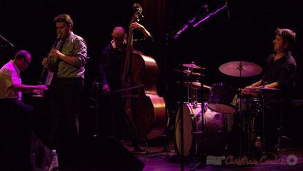 Festival JAZZ360 2013, Jérôme Gatius New Orleans Big Four, salle culturelle de Cénac. Photographie : Christian Coulais